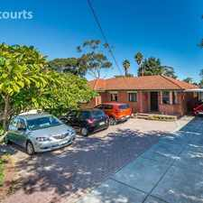 Rental info for cosy 3x 1 bedroom home in the Joondalup area