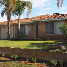 Rental info for ~~RE-FURBISHED HOME~~ in the Perth area