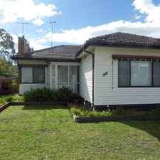 Rental info for CHARMING RESIDENCE in the Melbourne area