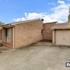 Rental info for 3 bedroom townhouse close to Belconnen- PRICE REDUCED!!! in the Bruce area