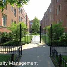 Rental info for 1433-45 W. Lunt Ave in the Rogers Park area
