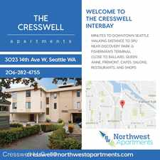 Rental info for 3023 14th Ave. W. 204 in the North Queen Anne area