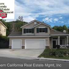 Rental info for 29470 MAMMOTH LANE