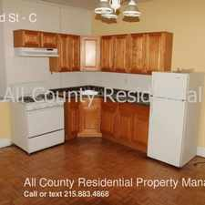 Rental info for 346 52nd St in the Philadelphia area