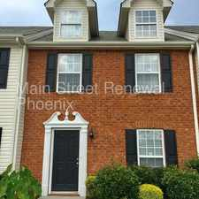 Rental info for 633 Legacy Drive