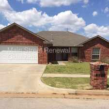 Rental info for Great Home with Office in the Oklahoma City area