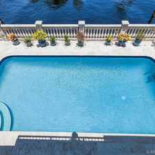 Rental info for A1A- WATERFRONT 4/3 POOL HOUSE W/DOCK 80 FT ON WATER - $7K Mo. ***SEE REMARKS & PHOTOS *** in the Fort Lauderdale area
