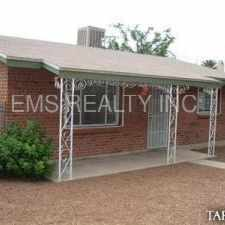 Rental info for Minutes to U of A, 2bdr/1ba house $1095.00 in the Tucson area