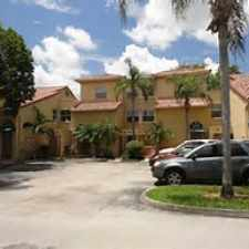 Rental info for 9767 NW 46 Ter #109 in the Doral area