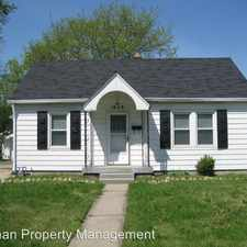 Rental info for 1628 N BERWICK AVE in the Indianapolis area