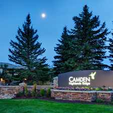 Rental info for Camden Highlands Ridge in the Highlands Ranch area