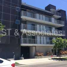 Rental info for Modern Upper 2 + 2 with Washer & Dryer & Central A/C. in the Santa Monica area