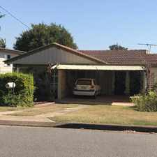 Rental info for Post War Home in Great Location in the Brisbane area