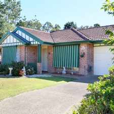 Rental info for INSPECTION - MON 4 SEPT 1.35PM - 1.45PM in the Boambee East area