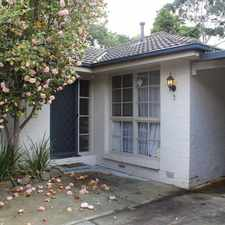 Rental info for Peaceful & Private in the Melbourne area