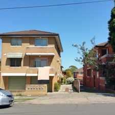Rental info for SUN FILLED 3 BEDROOM UNIT FRESHLY RENOVATED, TOP FLOOR WITH LOCK UP GARAGE in the Roselands area