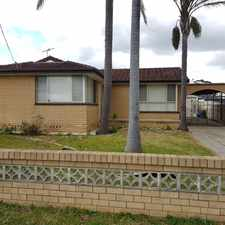 Rental info for FRESHLY REFURBISHED FAMILY HOME in the Mount Warrigal area