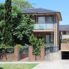 Rental info for LEASED in the Toongabbie area
