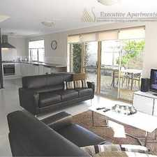 Rental info for LEEDERVILLE LUXE - Fully Furnished and Equipped in the West Perth area
