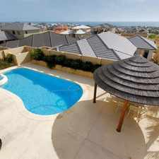 Rental info for Executive Home with all the benefits! in the Mindarie area