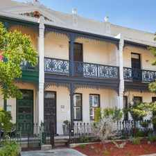 Rental info for Stunning Terrace Home, Exudes Charm in the Perth area