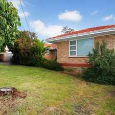 Rental info for OLDER STYLE HOME IN GREAT LOCATION in the Osborne Park area