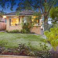 Rental info for A Lovely Family Home With a Brilliant View! in the Melbourne area