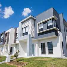 Rental info for ABSOLUTELY STUNNING MODERN STYLE BRAND NEW HOUSE! in the Brisbane area