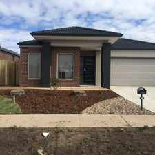 Rental info for BRAND NEW! 4 BEDROOM HOME! WALKING DISTANCE TO PLENTY VALLEY CHRISTIAN COLLEGE! in the Doreen area