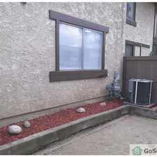 Rental info for Townhouse: 3-Bedroom -- one block from YMCA, sports facilities, and library