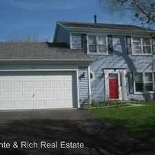Rental info for 1557 Hollytree Lane in the Crystal Lake area
