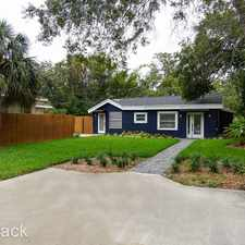 Rental info for 1401 26th Avenue N. in the St. Petersburg area