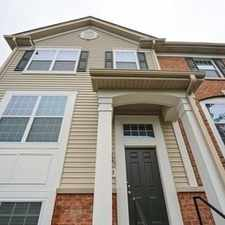 Rental info for Stunning Townhome In Arlington Heights! in the Arlington Heights area