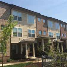 Rental info for River's Edge at Eastside Pointe in the Cincinnati area