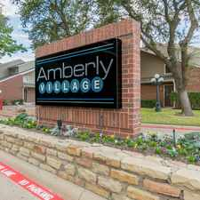 Rental info for Amberly Village in the 75040 area