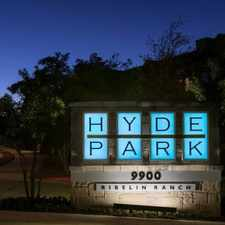 Rental info for Hyde Park Ribelin Ranch in the Austin area