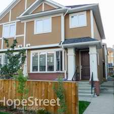 Rental info for 2423 29 Street SW - 4 Bedroom House for Rent in the Killarney/glengarry area