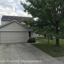 Rental info for 10305 Hornton Street in the 46236 area