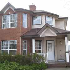 Rental info for 2039 Tanner Wynd in the Terwillegar Towne area