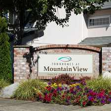 Rental info for Townhomes at Mountain View - Valley Avenue