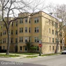 Rental info for 6203-05 N. Claremont 2314-20 W. Granville in the West Ridge area