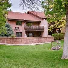 Rental info for Luxury Two Bedroom Condo in a Nice East Central Boulder Location.
