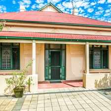 Rental info for Character Home - close to all you need ...Please call to view in the Adelaide area