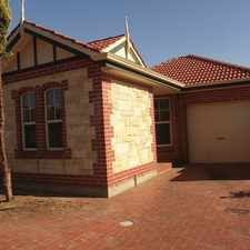 Rental info for Superb Beauty in a quiet cul- de- sac in the Adelaide area