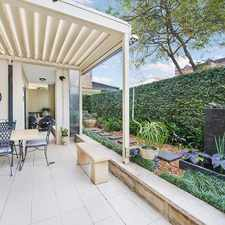 Rental info for Exceptional Garden Apartment in Mosman Village