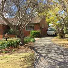 Rental info for Charming Full Brick Family Home Only a Short Walk from North Turramurra Village in the Sydney area