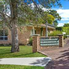 Rental info for THREE BEDROOM VILLA HOME SET IN CRESSY GROVE in the East Ryde area