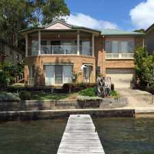 Rental info for Waterfront Living on Lake Macquarie