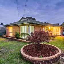 Rental info for UNDER APPLICATION WITH CASEY'S NUMBER 1 AGENT! in the Cranbourne area
