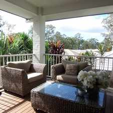Rental info for Contemporary Home with Ducted Air Conditioning & Media Room in the Brisbane area